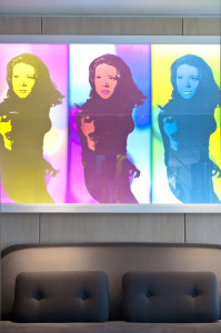 Emma Peel Light Box by Jeremy Lord in Angler Bar. (1)